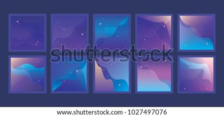 large set of vibrant universe