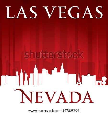 las vegas nevada city skyline