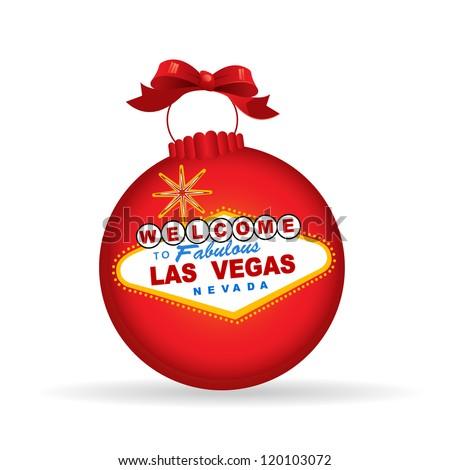 Las Vegas Sign Christmas