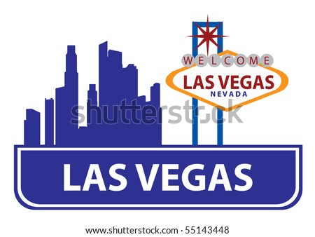 stock vector : Las Vegas skyline