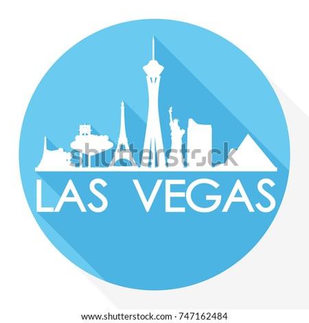 las vegas skyline button icon