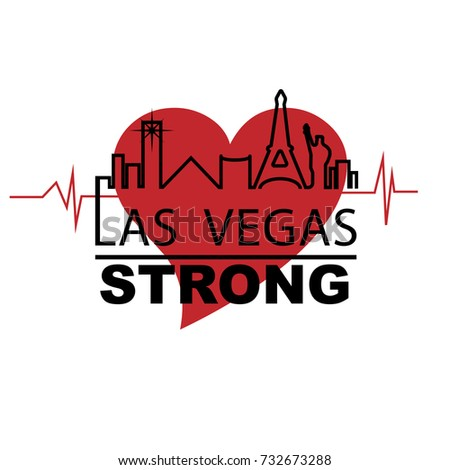 las vegas strong with iconic