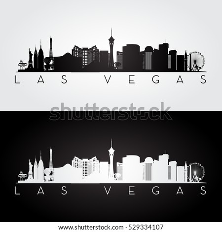 las vegas usa skyline and