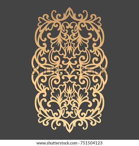 laser cut decorative element....