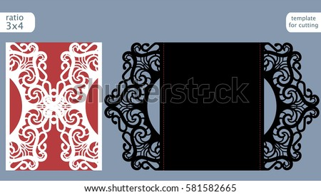 Laser Cut Invitation Vector Download Free Vector Art Stock