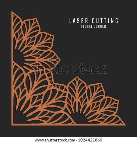 laser cutting corner tapestry