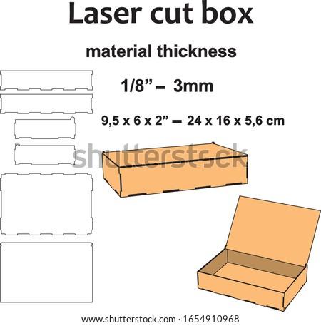 "Laser cutting design Laser cut pattern Laser cut wood Laser cut vector template diy crafts mdf acrylic plywood 3mm 1/8"" wooden box template blueprint home decor ornament"