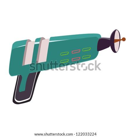laser gun vector weapon