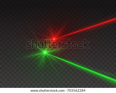 laser security beams isolated