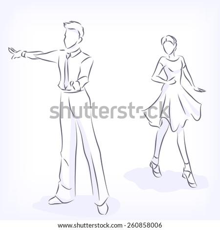 latin fast ballroom dances man
