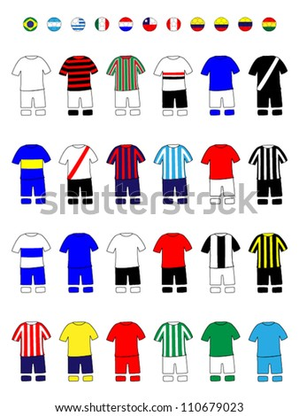 latinamerican clubs jerseys