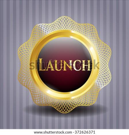 Launch gold emblem