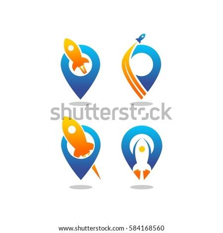 launch pad vector logo