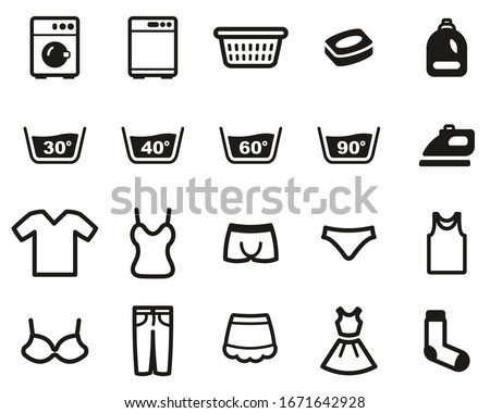 laundry or washing clothes