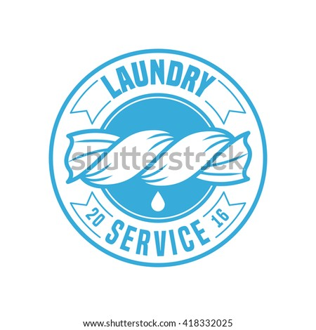 laundry room vector logo