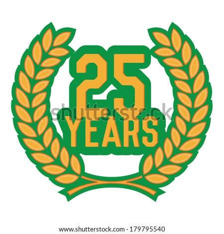 laurel wreath 20 years