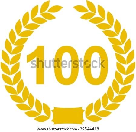 laurel wreath 100 years