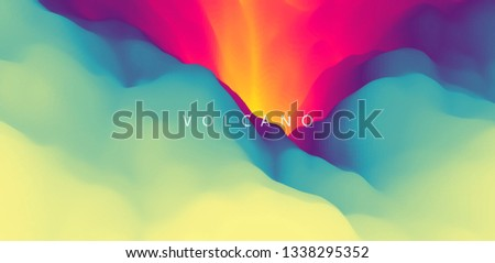 lava abstract background