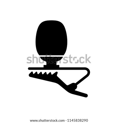 Lavalier (lapel) small microphone