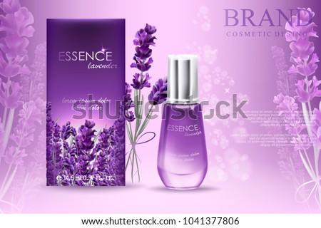 lavender essence ads  natural