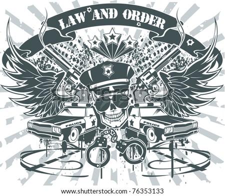 Law and Order Emblem