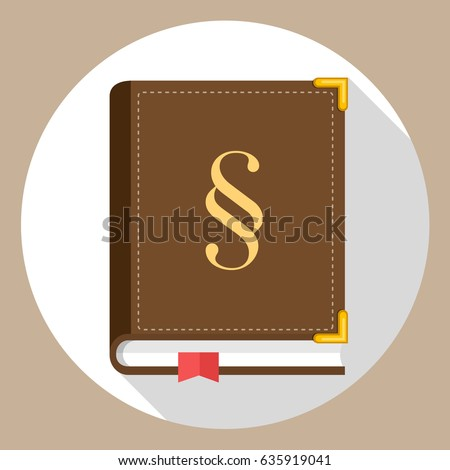 law book statute book with