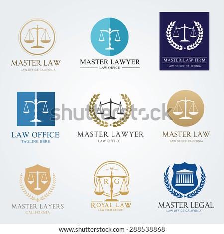 Law Frm Logo Set