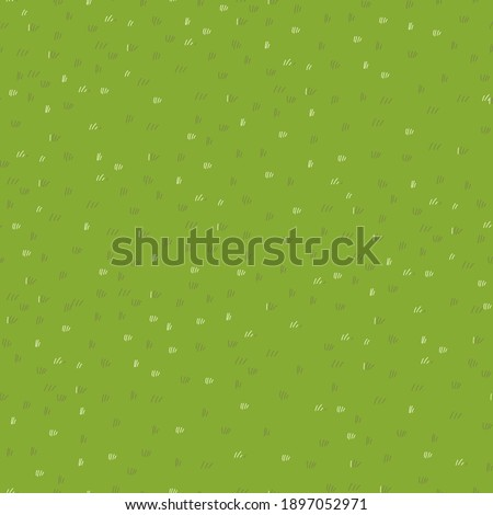 Lawn grass seamless in summer,Vector cartoon nature green field texture, Cute meadow in spring,Pattern summer grass on ground,Endless seasonal for four seasons, Natural abstract background