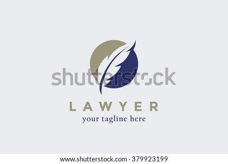lawyer law firm logo design