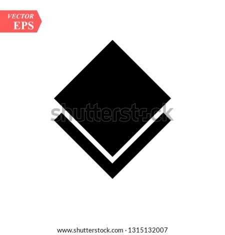layers icon vector. layers sign on white background. layers icon for web and app