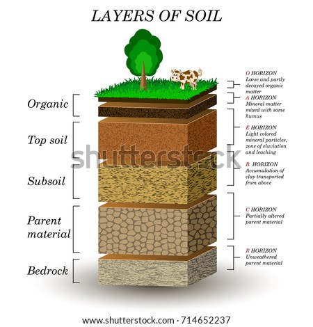layers of soil  education