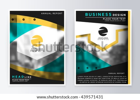 layout design template  annual