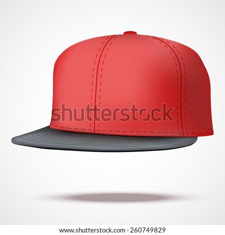 layout of male color rap cap a