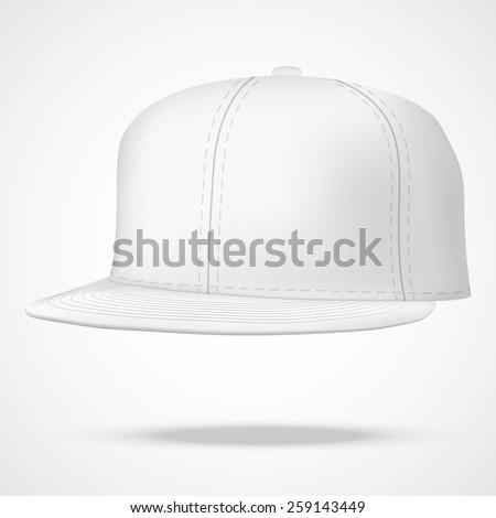 layout of male white rap cap a