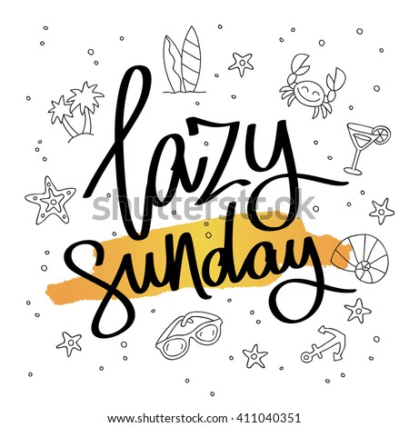lazy sunday fashionable
