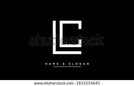 LC, CL initials letters Logo vector Tempalte Photo stock ©