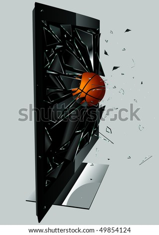 LCD TV Broken Ball Set 6