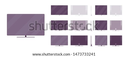 lcd tv set system liquid