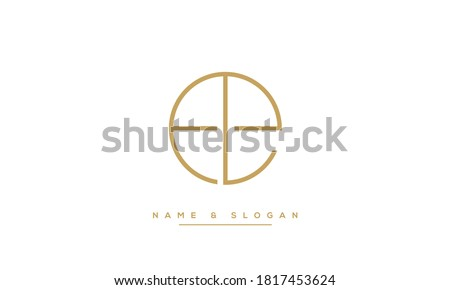 LE, EL Initial letters Logo Monogram Template Photo stock ©