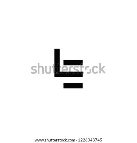 le letter logo Stock fotó ©