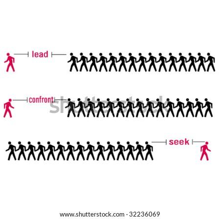Lead Confront Seek
