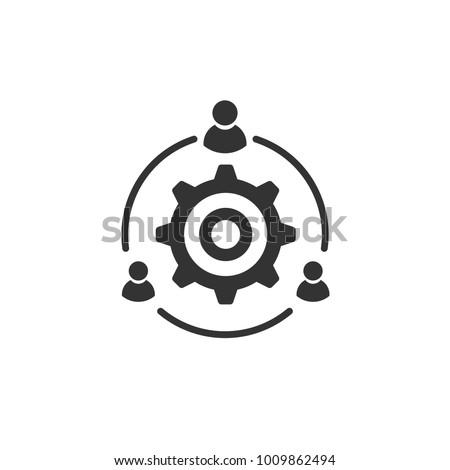 Leader icon process