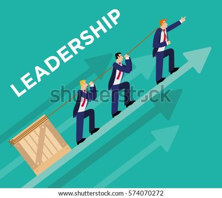 Leadership Illustration Concept