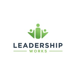Leadership logo design. Creative and minimalist logo.