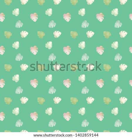 leaf foliage 5 comp pattern d