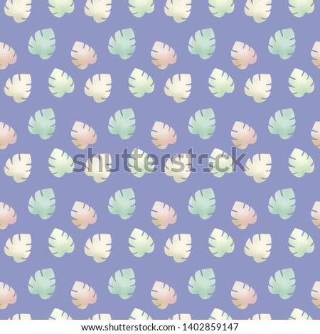 leaf foliage 5 comp pattern e