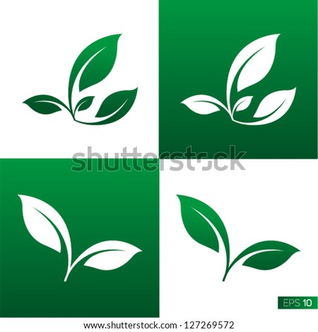 Leaf Icon Leaf Icon Vector Illustrations