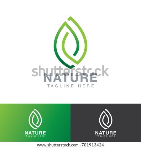 leaf nature logo
