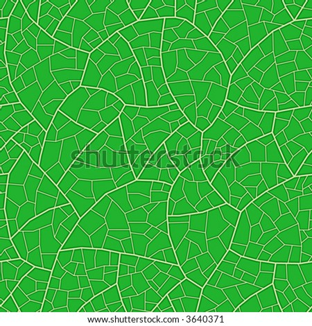 Leaf. Seamless vector wallpaper -- vascular structure