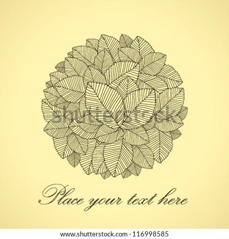 leafs round black